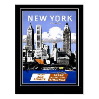 郵便はがきのヴィンテージ旅行ニューヨークアメリカ ポストカード