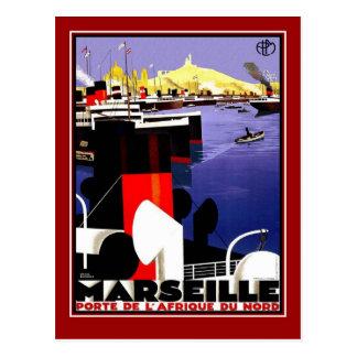 郵便はがきのヴィンテージ旅行マルセーユ ポストカード