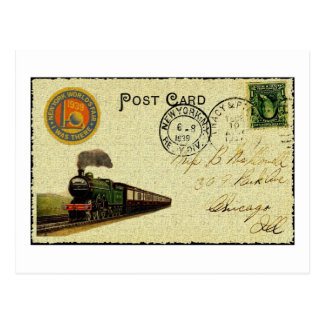 郵便はがきの芸術 ポストカード