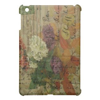郵便はがきの開花 iPad MINI カバー