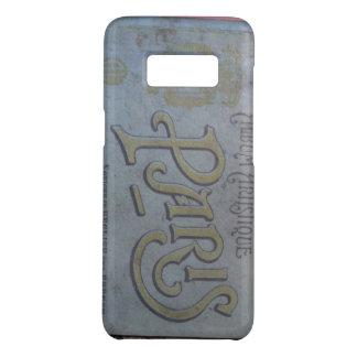 郵便はがきのSamsungの古い例のヴィンテージのパリの本 Case-Mate Samsung Galaxy S8ケース