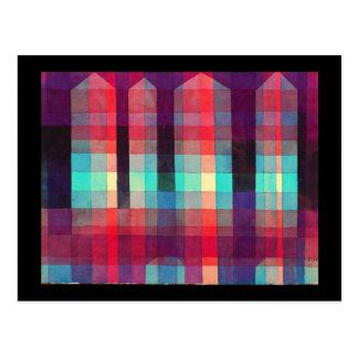 郵便はがきクラシックの芸術Klee 7 ポストカード
