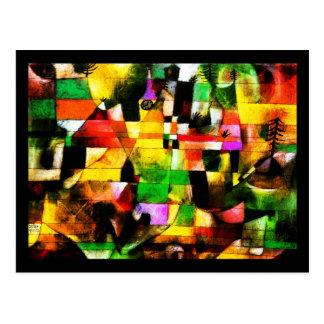 郵便はがきクラシックの芸術Klee 8 ポストカード