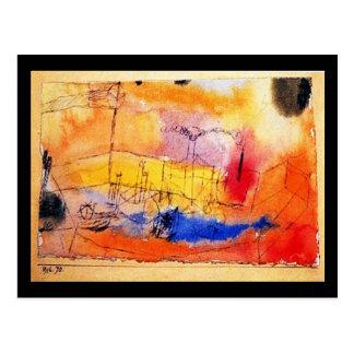 郵便はがきクラシックまたはヴィンテージの芸術Klee 33 ポストカード