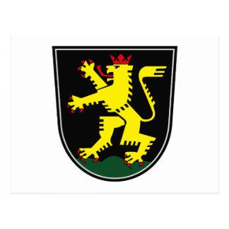 郵便はがきハイデルベルクの紋章付き外衣 ポストカード