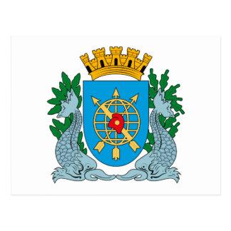 郵便はがきリオデジャネイロの紋章付き外衣 ポストカード