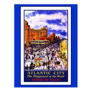 郵便はがき旅行アメリカのプリントのレトロのヴィンテージ旅行 ポストカード