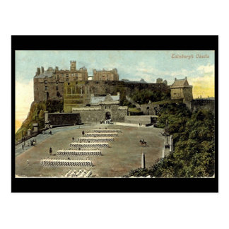郵便はがき、エジンバラの城 ポストカード