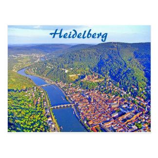 郵便はがき-ハイデルベルクの空中写真 ポストカード