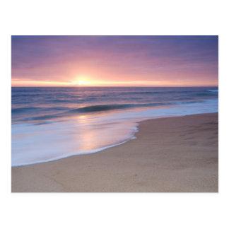 郵便はがき: プライアはGarrãoのビーチをします。 ポルトガル ポストカード