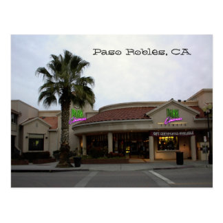 郵便はがき、公園映画館、Paso Robles、カリフォルニア ポストカード