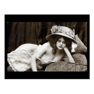 郵便はがき-美しい目を持つ女の子 ポストカード