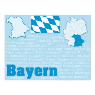 """郵便はがき""""Bayern """" ポストカード"""