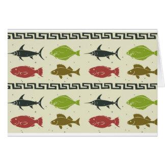 郵便はがき- FishFishFish! カード