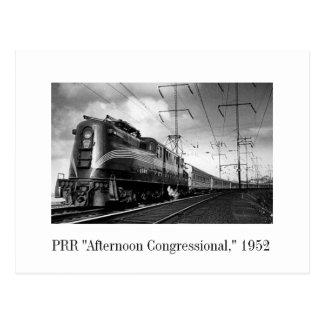 """郵便はがき- PRR """"議会午後"""" 1952年 ポストカード"""