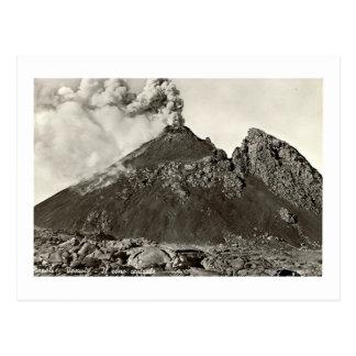 郵便はがき、Vesuviusの中央円錐形 ポストカード