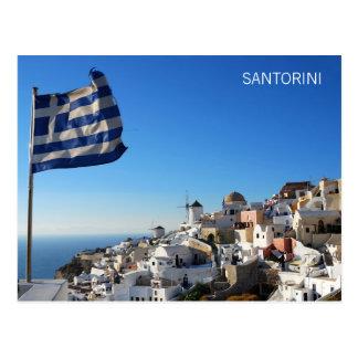 郵便はがきOia、Santorini ポストカード