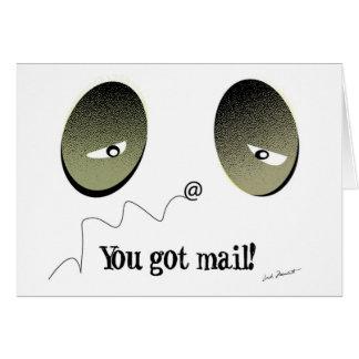 郵便を得ました! カード