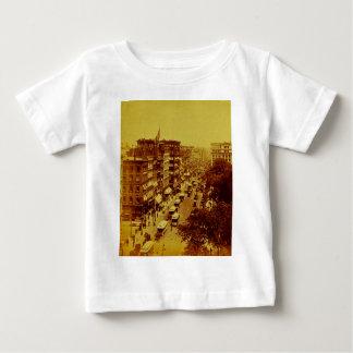 郵便局6月ニューヨークシティからの1888年ブロードウェイ ベビーTシャツ