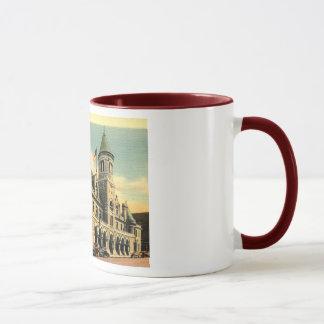郵便局、オーガスタ、メインのヴィンテージ マグカップ