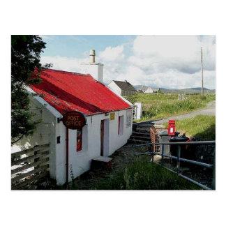 郵便局、Balallanのルイス、スコットランドの島 ポストカード