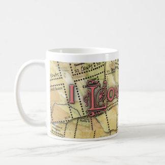 郵便芸術のマグ コーヒーマグカップ