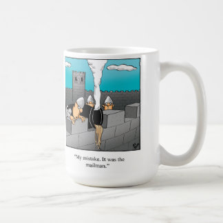 郵便配達員のユーモアのマグのギフト コーヒーマグカップ