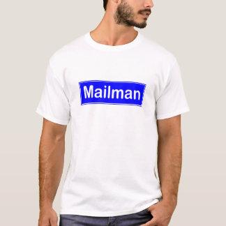 郵便配達員のTシャツ Tシャツ