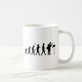 郵便配達員 コーヒーマグカップ