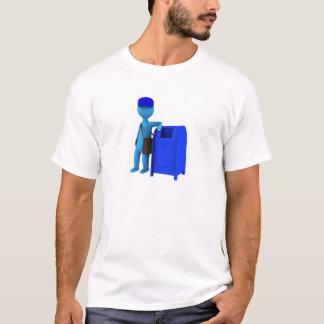 郵便配達員 Tシャツ