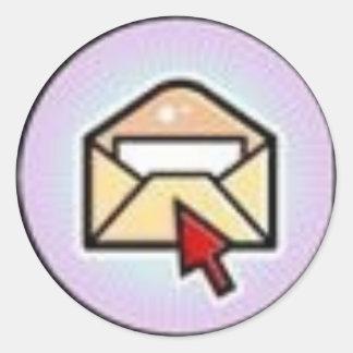 郵便 ラウンドシール