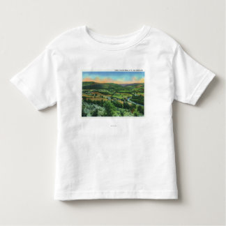都市のサリバンの山景色 トドラーTシャツ