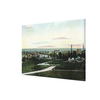 都市の一般的な見解 キャンバスプリント