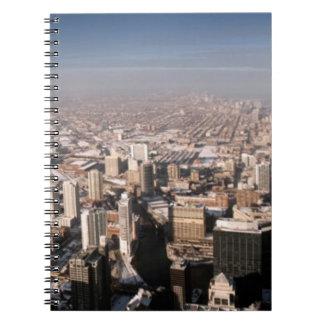 都市の全景 ノートブック