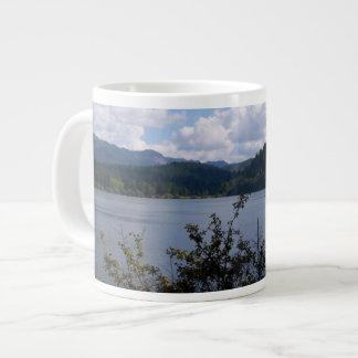 都市の湖 ジャンボコーヒーマグカップ