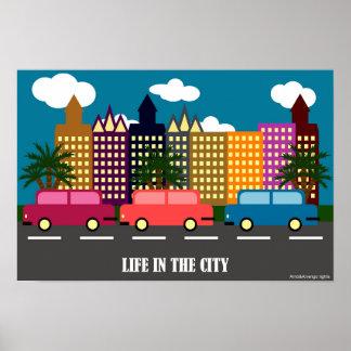 都市の生命 ポスター