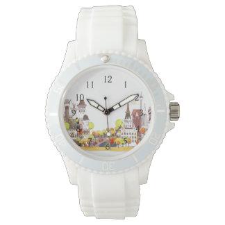 都市の秋 腕時計