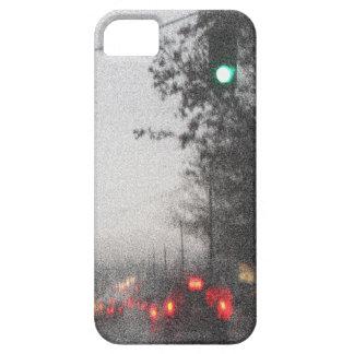 都市の雨の日 iPhone SE/5/5s ケース