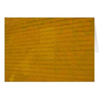 都市の黄色 カード