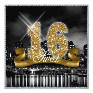 都市はSweet sixteenの金ゴールドID243をつけます カード