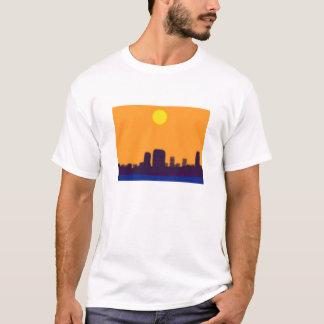 都市はzzzをつけます tシャツ