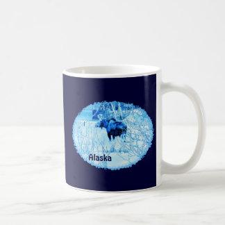 都市アメリカヘラジカ コーヒーマグカップ