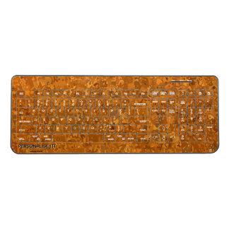都市カムフラージュ ワイヤレスキーボード