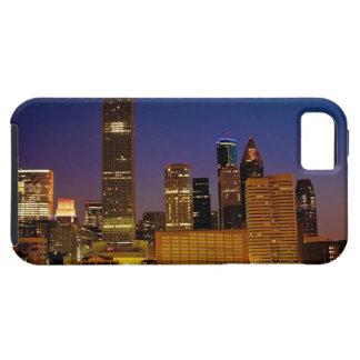 都市スカイラインのヒューストン写真のiPhone 5の場合 iPhone SE/5/5s ケース