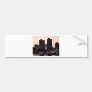 都市スカイライン バンパーステッカー