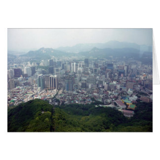 都市ソウルのアンテナ カード