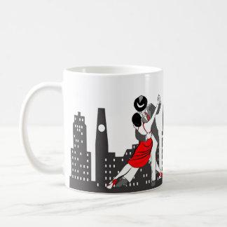都市タンゴ コーヒーマグカップ