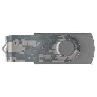 都市デジタル迷彩柄のカムフラージュ USBフラッシュドライブ