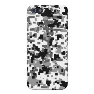 都市デジタル迷彩柄のiphone 4ケース iPhone 5 case