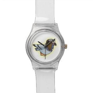 都市フラッパーの灰色の腕時計 腕時計